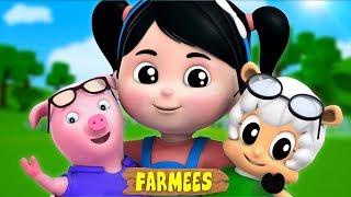 Chubby Cheeks | Nursery Rhymes | Kids Songs | Childrens rhymes by Farmees S02E4253