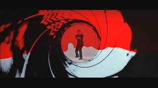 Roger Moore in The Living Daylights - Gunbarrel