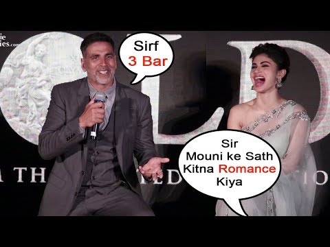 Xxx Mp4 Akshay Kumar Mouni Roy S FUNNY MOMENTS At GOLD Music Launch Event 3gp Sex