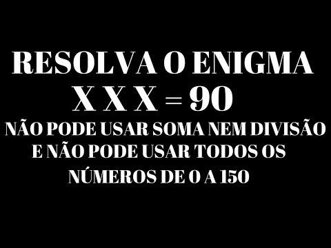 Xxx Mp4 RESOLVAM O ENIGMA X X X 90 NÃO USA SOMA E DIVISÃO NEM O NÚMERO 3 E O 2 3gp Sex