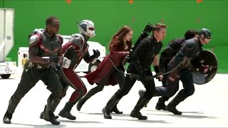 Detrás de cámaras Capitán América: Civil War
