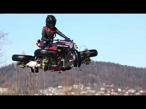 Lazareth LMV 496 Episode 2 La Moto Volante Flying Bike
