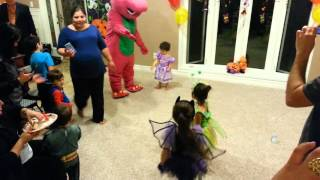 Barney birthday party for Victoria