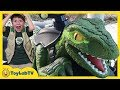 Download Video Download Raptor Blue Dinosaur Pretend Play! Jurassic World Fallen Kingdom Dinosaurs Ride On Toy Car Training 3GP MP4 FLV