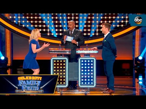 Kellie Missed The Buzzer Celebrity Family Feud