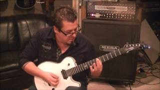 Iron Maiden - Fear Of The Dark - Guitar Lesson by Mike Gross