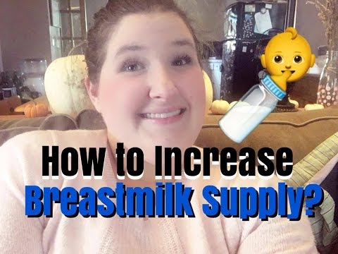 How to Increase Breastmilk Supply Fast! // Low Supply
