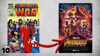 Top 10 Differences Between Avengers Infinity War Comic Book & Movie