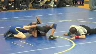 2/5/14 JV Wrestling Benicia Panthers vs American Canyon Wolves