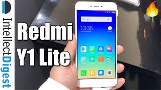 Hindi- Redmi Y1 Lite Hands On Overview By Hinglish Wala