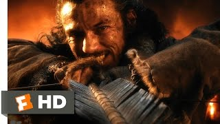 The Hobbit: The Battle of the Five Armies - The Fall of Smaug Scene (1/10) | Movieclips
