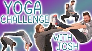 Yoga Challenge with my brother Joshuadtv!!!