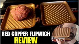Red Copper Flipwich Review: As Seen on TV Sandwich Maker