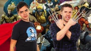 Joe & Elliott's Superhero Roundup!