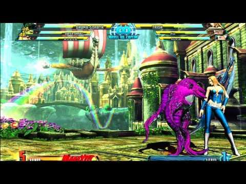 Shuma-gorath ryona Capcom girls