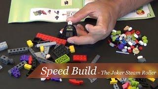 Speed Build - Lego Batman The Joker Steam Roller Set #76013