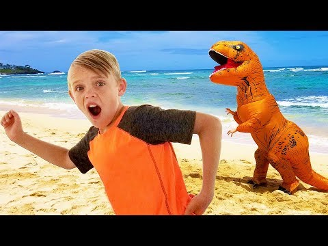 Kids Fun TV Compilation Video Dinosaur Pirate Incredibles and Jumanji Together