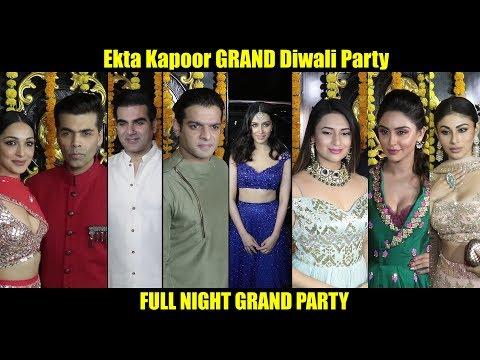 Xxx Mp4 Ekta Kapoor Ki Grand DIWALI Party Full Night Party With Tv Celebrities And Bollywood 3gp Sex