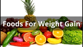 How to Gain Weight Fast with Top Foods