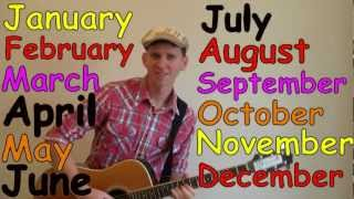 Months of the Year Song | Learn English Kids