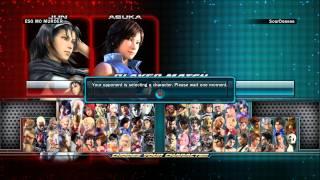 Tekken Tag Tournament 2 Mo Jun/Unknown/Asuka vs Sensue Paul