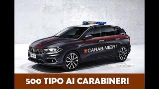 La Fiat Tipo si mette la divisa: 500 TIPO AI CARABINERI