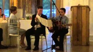Young kid plays Ed Sheeran cover at his sister's wedding and nails it