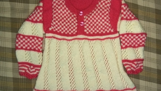Easy Woolen Frock for Girls(Part-2)| Hindi