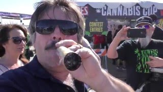 GIANT 420 JOINT with Trendy Nay and Crew HIGH TIMES Cannabis Cup 2016