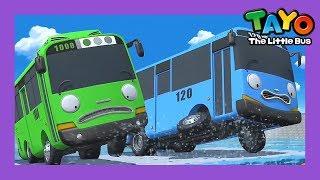 Tayo y Rogi en peligro! l Tayo S3 película animada l Tayo el pequeño Autobús Español