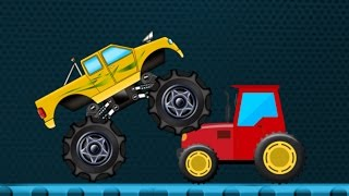 Monster Truck | Monster Truck Transport | Learn Transports
