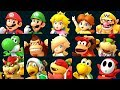 Super Mario Party - All Characters