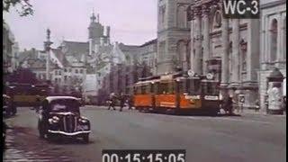 Przedwojenna Warszawa w kolorze 1938 nieznany film! Warsaw in color 1938 unknown film!