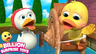 Five Little Ducks Kids Song | BST Nursery Rhymes for Babies