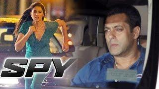 Salman Khan Watches Nargis Fakhri's SPY @ Citylight Cinema