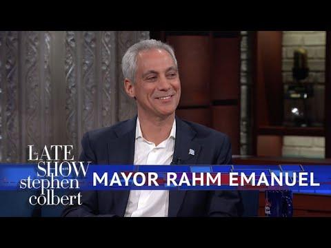 Xxx Mp4 Mayor Rahm Emanuel Chicago Is A Trump Free Zone 3gp Sex