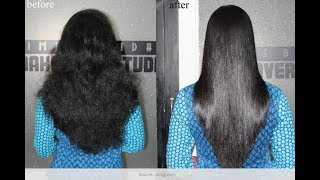 HOW TO : Treat Dry Damaged Frizzy Hair | Home Remedies| Get Smooth Hair, Silky Hair, Shiny Hair