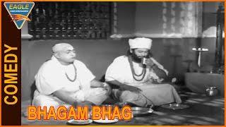 Bhagam Bhag Hindi Movie || Kishore Kumar Eating Food Comedy Scene || Eagle Hindi Movies