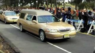Whitney Houston's Burial in NJ
