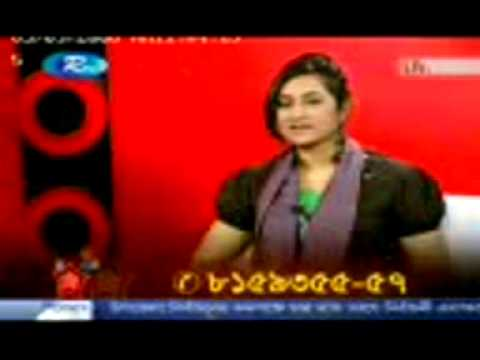 আঁখি আলমগির লাইভ ভিডিও ইন RTV