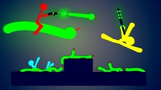 Absolutely Hilarious KING OF THE SNAKES!  (Stick Fight Multiplayer Gameplay Funny Moments)