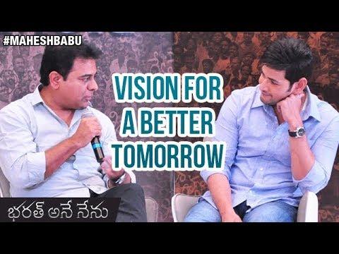 Xxx Mp4 Mahesh Babu And KTR Interview Vision For A Better Tomorrow Bharat Ane Nenu Movie Koratala Siva 3gp Sex