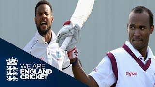Brathwaite And Hope Score Hundreds As WI Take Control - England v West Indies 2nd Test Day Two 2017