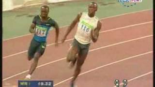 Usain Bolt - Athènes 2008