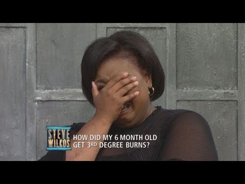 Xxx Mp4 Moment Of Truth Did Sharnice Intentionally Burn Her Nephew The Steve Wilkos Show 3gp Sex