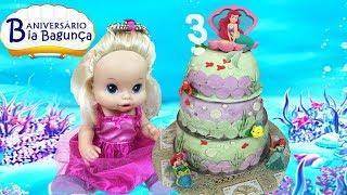 Festa de Aniversário da BABY V ALIVE BIA BAGUNÇA | DisneySurpresa