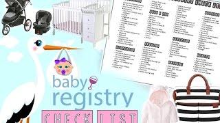 Baby Registry checklist!!! (FREE CHECKLIST DOWNLOAD)