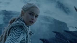 El Rey de la noche mata a Viserion Dragón de Daenerys | Game of Thrones 7x6 Español latino