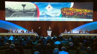 Karim Massimovs powerful speech Winter Olympic Games 2022