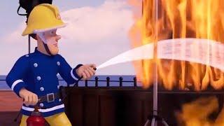 Sam el Bombero Español 🌟 Sam salva a Norman otra vez | Maratón de episodios 🔥 Dibujos animados